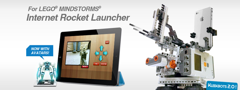 Mindstorms Internet Rocket Launcher