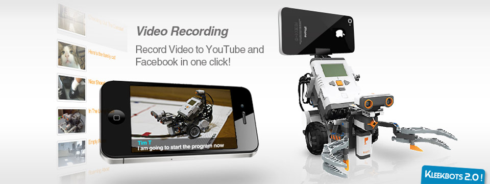 One-Click! Video Recording. Includes Chat Stream Recording