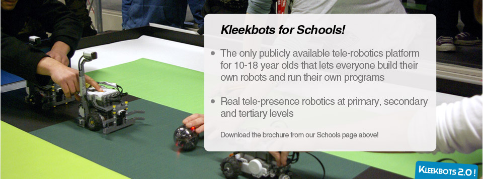 Kleekbots for Schools!